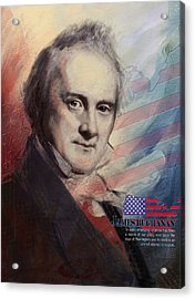 James Buchanan Acrylic Print by Corporate Art Task Force