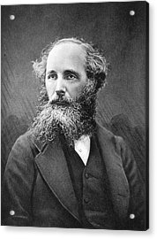 James Clerk Maxwell Acrylic Print by Science Photo Library