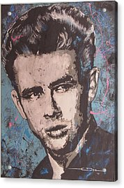 James Dean Blues Acrylic Print