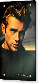 James Dean Acrylic Print by Jay Milo