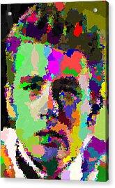 James Dean Portrait Acrylic Print