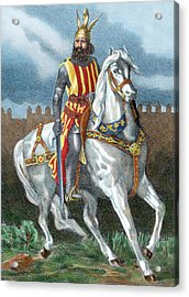 James I The Conqueror (1208-1276 Acrylic Print by Prisma Archivo