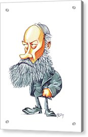James Joule Acrylic Print by Gary Brown
