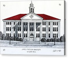 James Madison University Acrylic Print