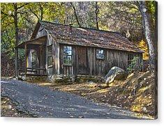 James Marshall Cabin Acrylic Print