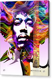 James Marshall Hendrix Acrylic Print