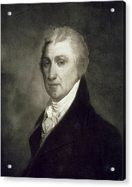 James Monroe Acrylic Print by American School