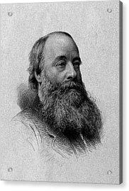 James Prescott Joule, English Physicist Acrylic Print