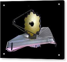 James Webb Space Telescope Acrylic Print by Nasa