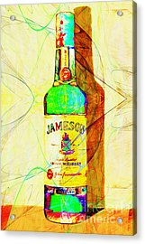 Jameson Irish Whiskey 20140916 Painterly V2 Acrylic Print
