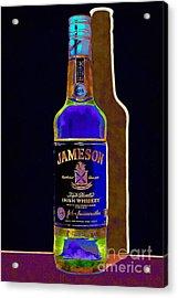 Jameson Irish Whiskey 20140916wc V2 Acrylic Print by Wingsdomain Art and Photography