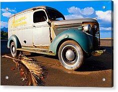 Jamesons Truck Acrylic Print by Ron Regalado