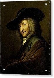 Jan Pietersz Zomer, Art Dealer In Amsterdam Acrylic Print by Litz Collection
