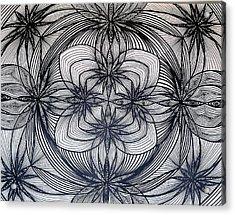 Janes Waves Acrylic Print by Sarah Yencer