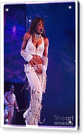 Janet Jackson-01 Acrylic Print by Timothy Bischoff