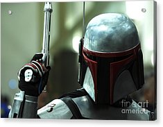 Jango Fett Acrylic Print by Micah May