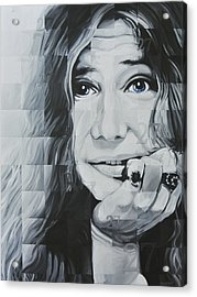 Janis 27 Acrylic Print by Steve Hunter