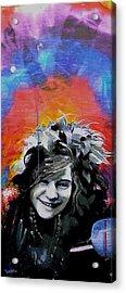 Janis Acrylic Print by dreXeL