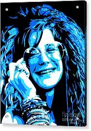 Janis Joplin. Acrylic Print