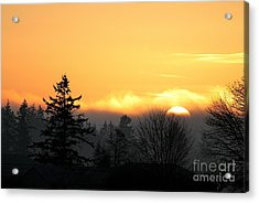 January Goodnight 2 Acrylic Print
