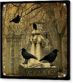 January Darkness Acrylic Print by Gothicrow Images