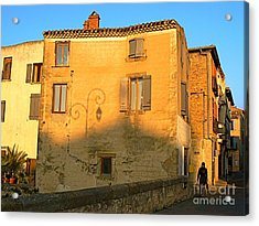 The Lady Of Limoux Acrylic Print by France  Art