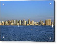 January In San Diego Acrylic Print by Christine Till