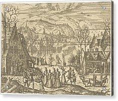 January, Pieter Van Der Borcht Acrylic Print