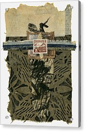 Japan 1943 Collage Acrylic Print