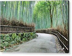 Japan, Kyoto Road Acrylic Print