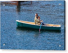 Japan Lake Ashi  - Helping Hand Acrylic Print