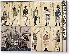 Japan Russian Sailors Acrylic Print by Granger