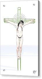 Spiritual Christ Acrylic Print