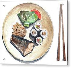 Japanese Food Acrylic Print