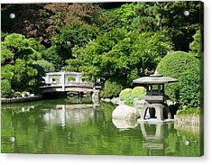 Acrylic Print featuring the photograph Japanese Friendship Garden by Cindy McDaniel