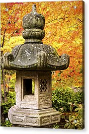 Stone Lantern Acrylic Print