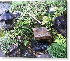 Japanese Garden Meditation Acrylic Print