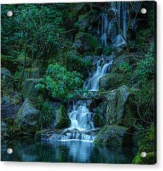 Japanese Garden Serenity 1 Acrylic Print