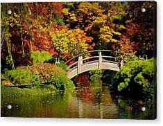 Acrylic Print featuring the photograph Japanese Gardens 9540 by Ricardo J Ruiz de Porras