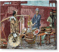 Japanese History Acrylic Print by Prisma Archivo