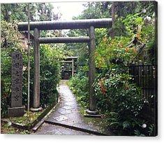 Japanese Temple Passage Acrylic Print