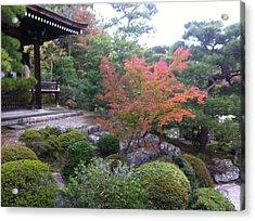 Japanese Temple Peace Acrylic Print