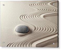 Japanese Zen Garden 21x30 Acrylic Print by Dirk Ercken