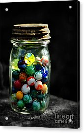 Jar Full Of Sunshine Acrylic Print