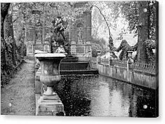 Jardin De Medicis Paris Acrylic Print