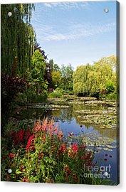 Jardin D'eau Acrylic Print by Alex Cassels