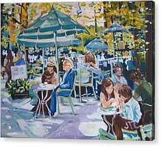 Jardin Du Luxembourg Acrylic Print by Julie Todd-Cundiff