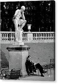 Jardin Du Luxembourg Acrylic Print
