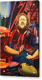 Acrylic Print featuring the painting Jason Hann At Horning's Hideout by Joshua Morton