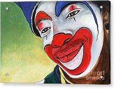 Jason The Clown Acrylic Print